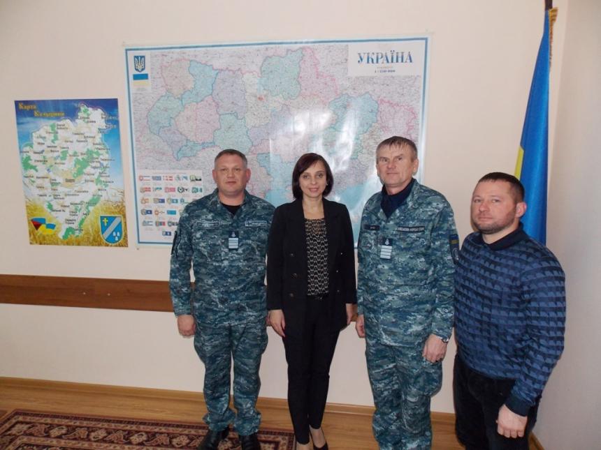 Калущина продовжила шефські зв'язки та співробітництво з військовою частиною в Очакові 2