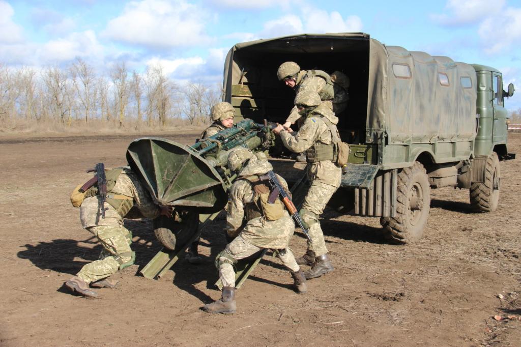 """Бійці коломийської """"десятки"""" перемогли на змаганнях мінометників ООС 2"""
