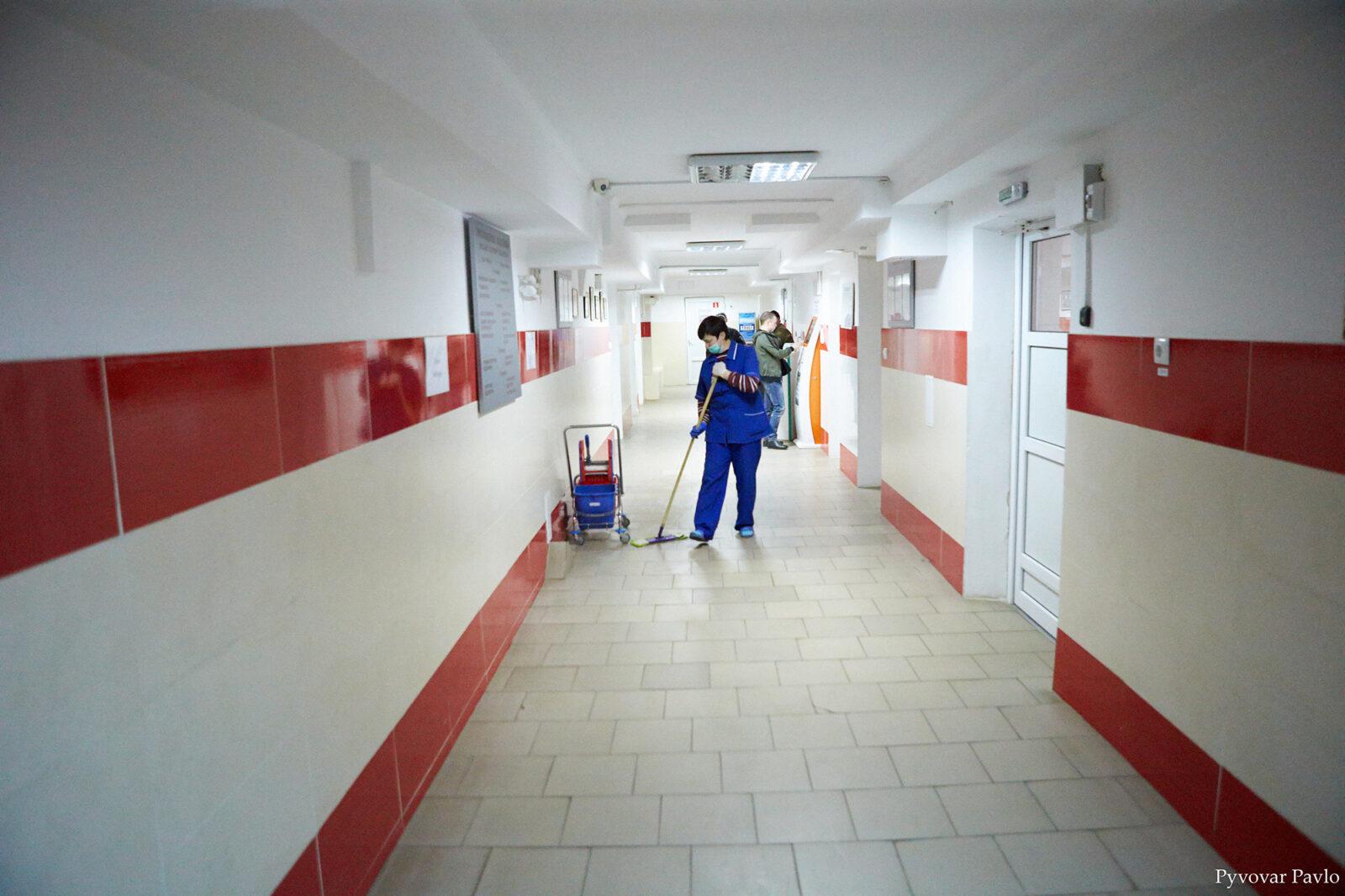 Марцінків проінспектував лікарню на Матейка 4
