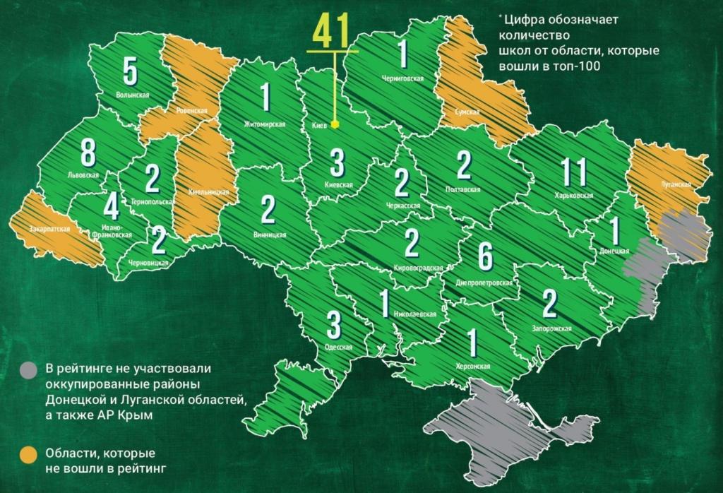 Чотири школи Прикарпаття – в сотні найкращих в Україні 2