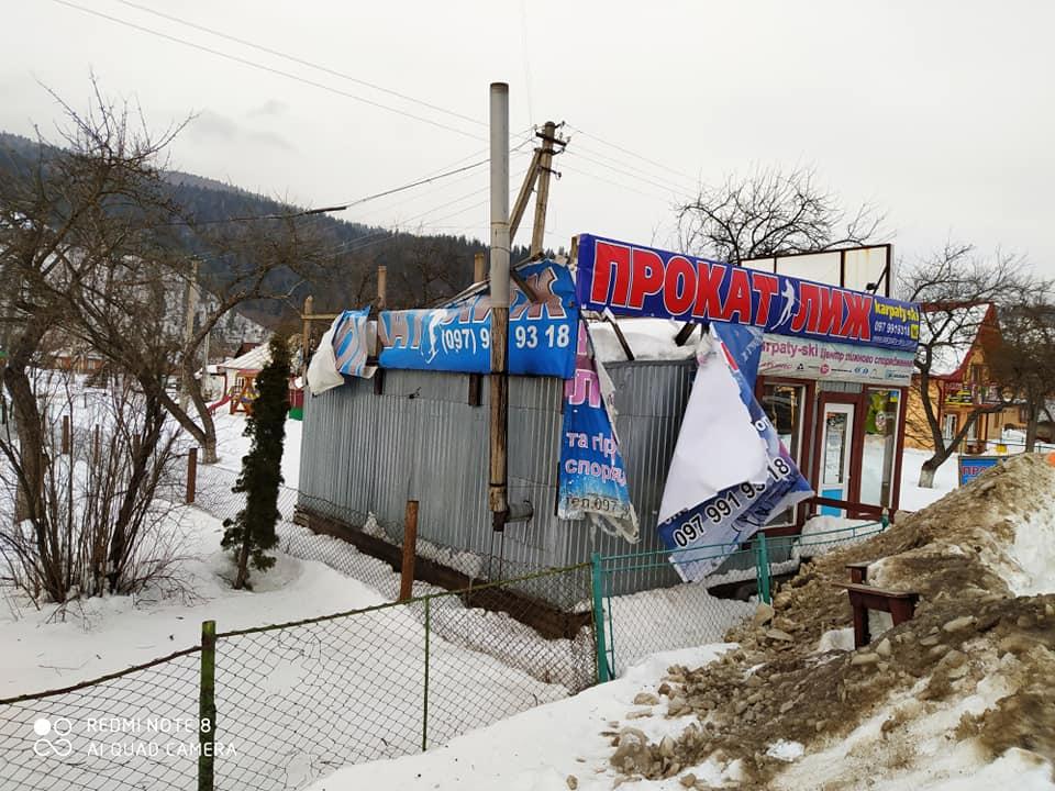 Негода на Прикарпатті: шквальний вітер зриває дахи і валить дерева у 5 районах 2