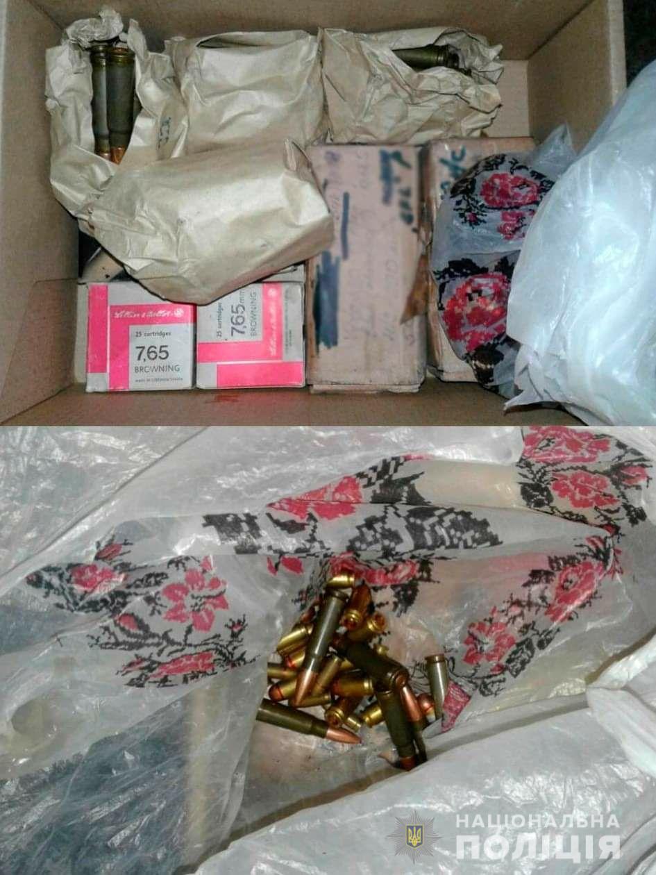 Поліція під час обшуків знайшла зброю в організатора нарколабораторії у Калуші 1