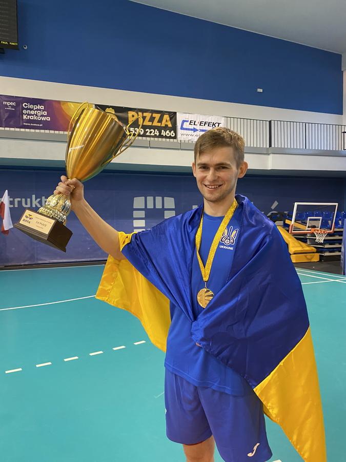 Аспірант ІФНМУ став чемпіоном світу з футзалу серед медиків 2