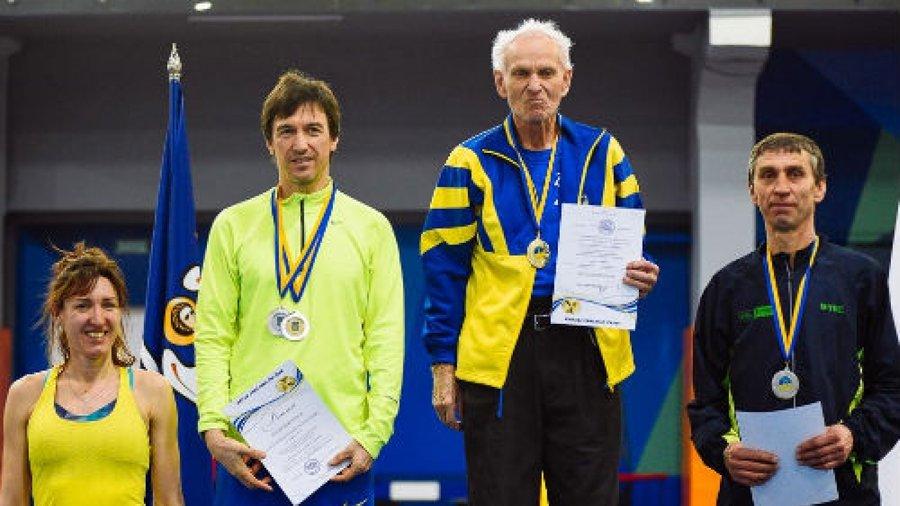 80-річний легкоатлет з Франківська встановив три національні рекорди на чемпіонаті України 2