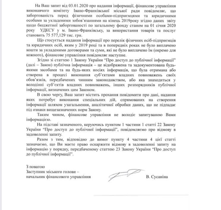 Франківськ у боргах 1