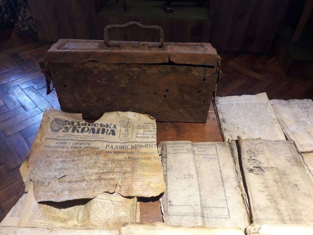 До обласного Музею визвольної боротьби передали архів УПА з Олеші 2