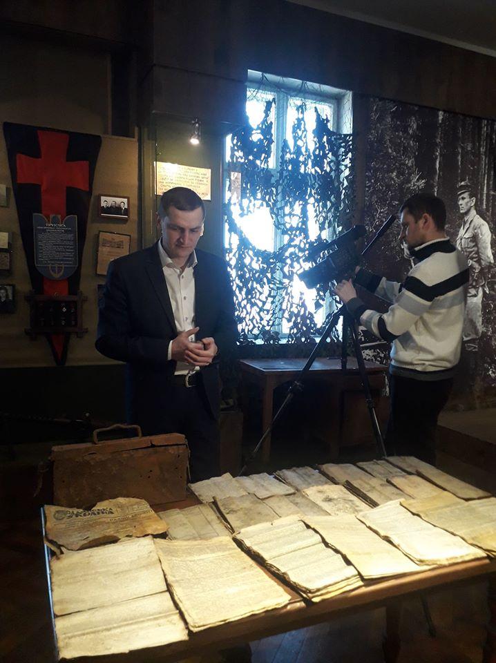 До обласного Музею визвольної боротьби передали архів УПА з Олеші 4