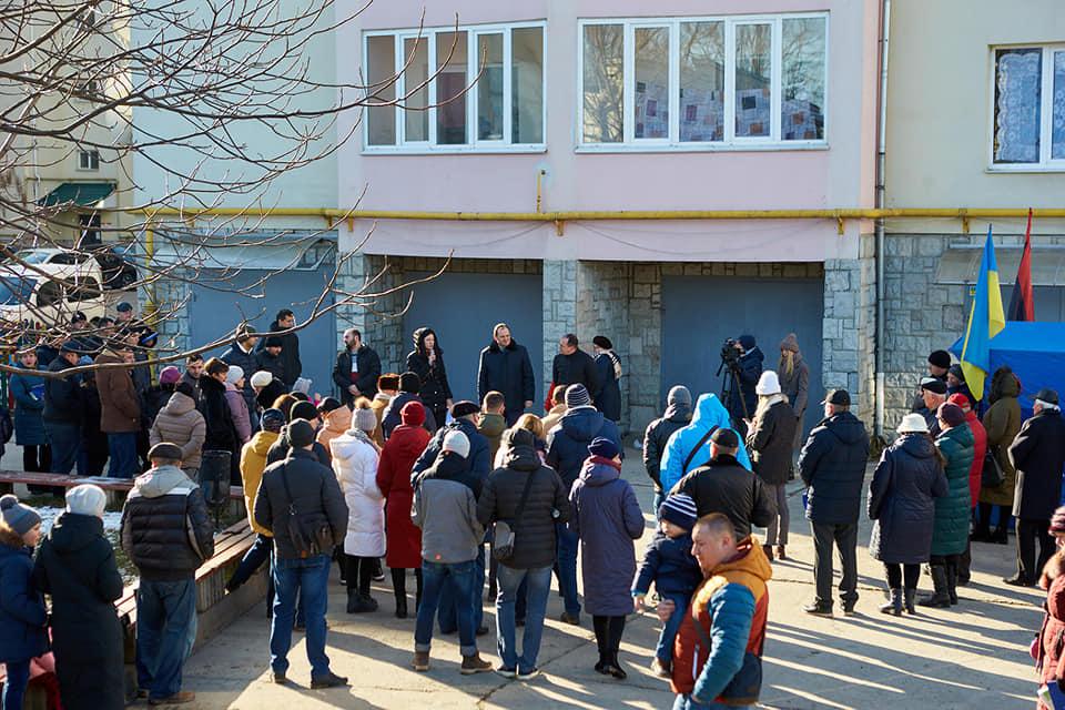 Мешканці 4 будинків на Тролейбусній просили мера про приєднання до Франківська 2