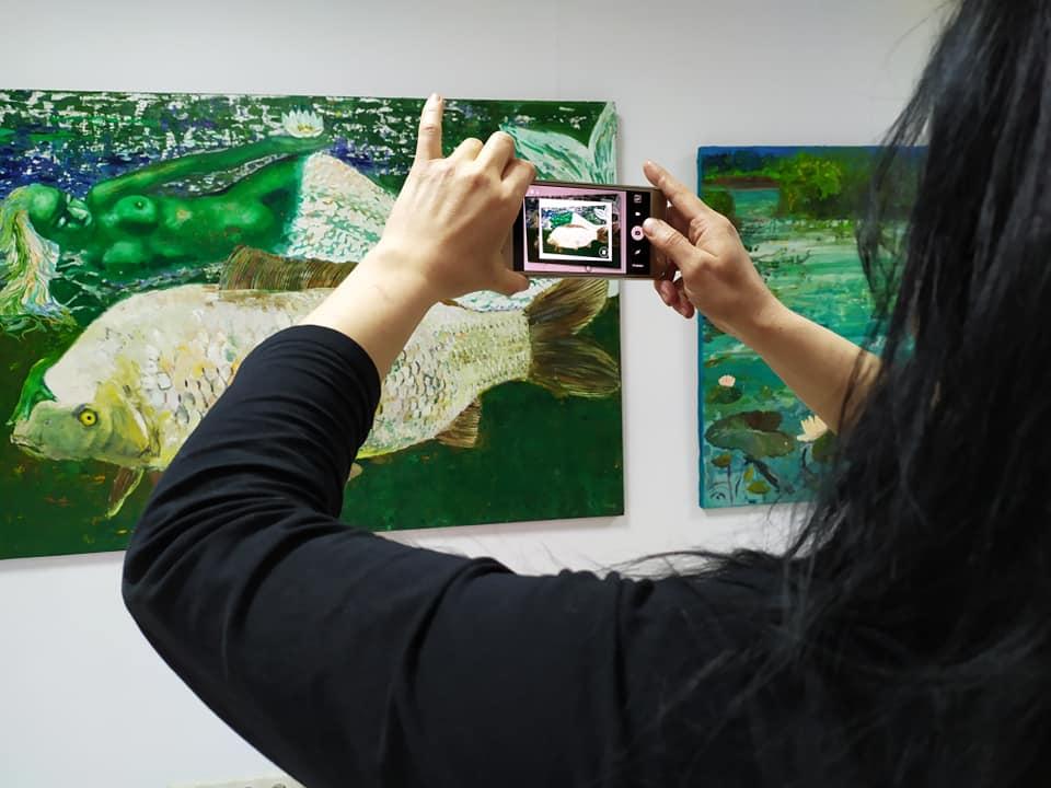 Франківська художниця Наталія Білик показала вершини і глибини 6