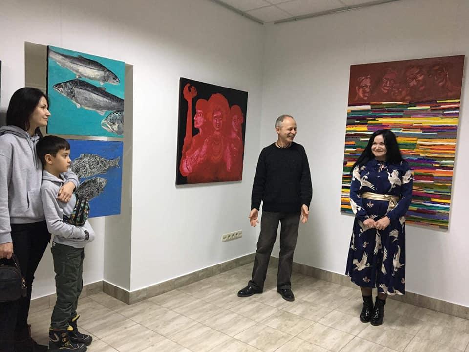 Франківська художниця Наталія Білик показала вершини і глибини 4