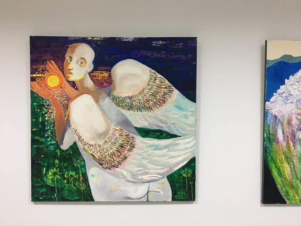 Франківська художниця Наталія Білик показала вершини і глибини 14