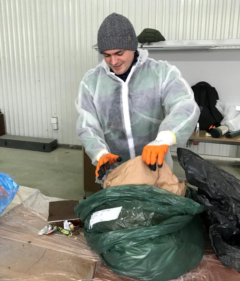 У Франківську відібрали зразки відходів для міжнародного проєкту з переробки сміття 3