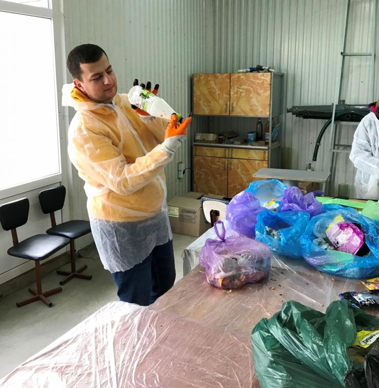 У Франківську відібрали зразки відходів для міжнародного проєкту з переробки сміття 1