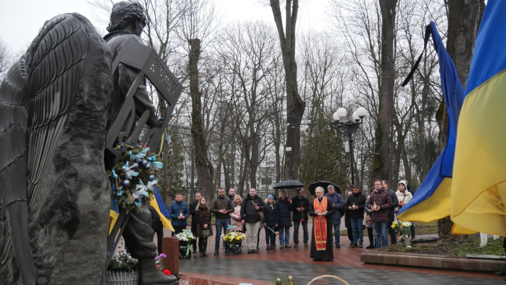 """""""Перші солдати, які загинули у війні з Росією"""" – у Франківську вшанували Героїв Небесної Сотні 4"""