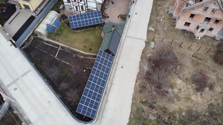сонячна електростанція в Угринові