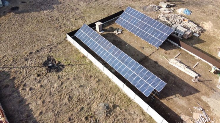 Сонячну електростанцію для дому потужністю 30 кВт змонтовано в Богородчанах 4