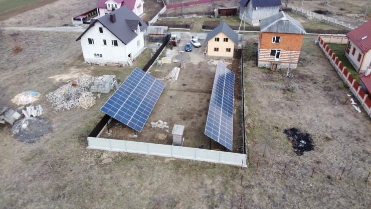 Сонячну електростанцію для дому потужністю 30 кВт змонтовано в Богородчанах 2
