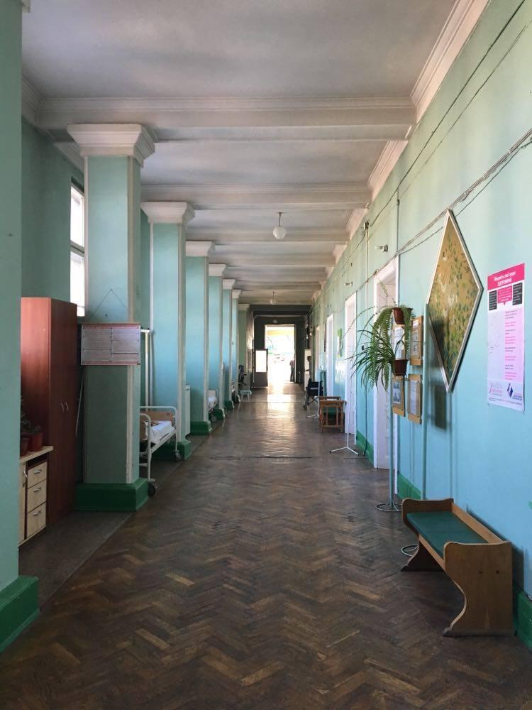 Марцінків показав, як лікарня на Матейка готується до прийому хворих 4
