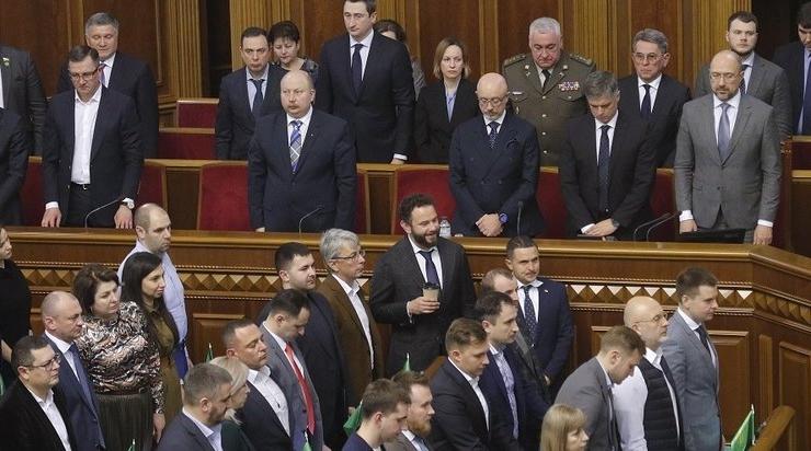 уряд України, прем'єр-міністр Шмигаль і міністри
