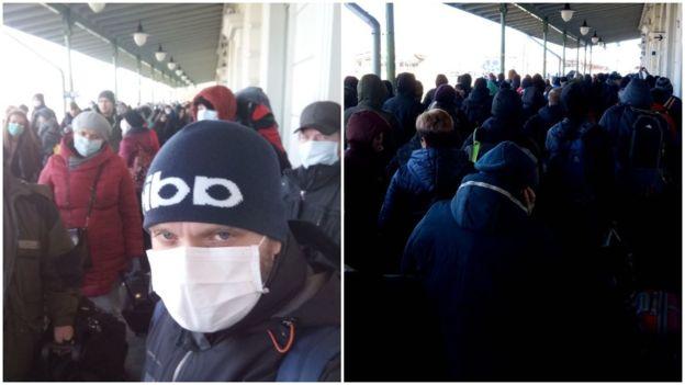 На кордоні з Польщею застрягли тисячі українців. Масово повертаються додому 2