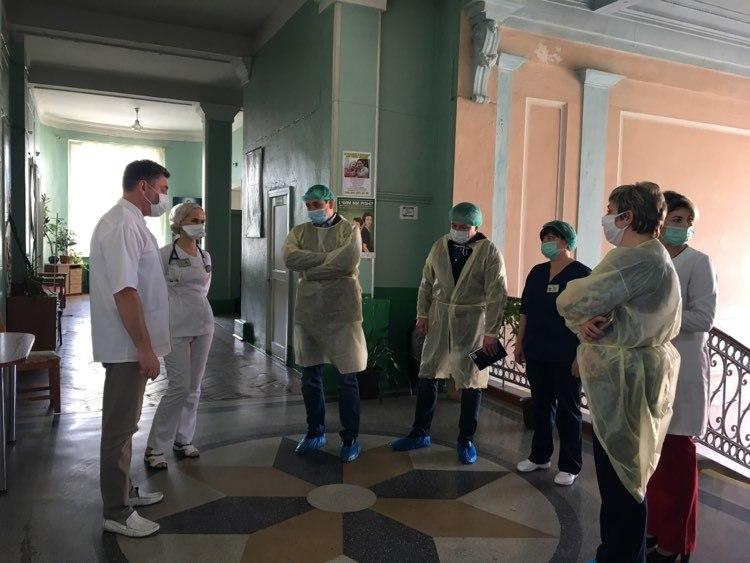 Марцінків показав, як лікарня на Матейка готується до прийому хворих 2