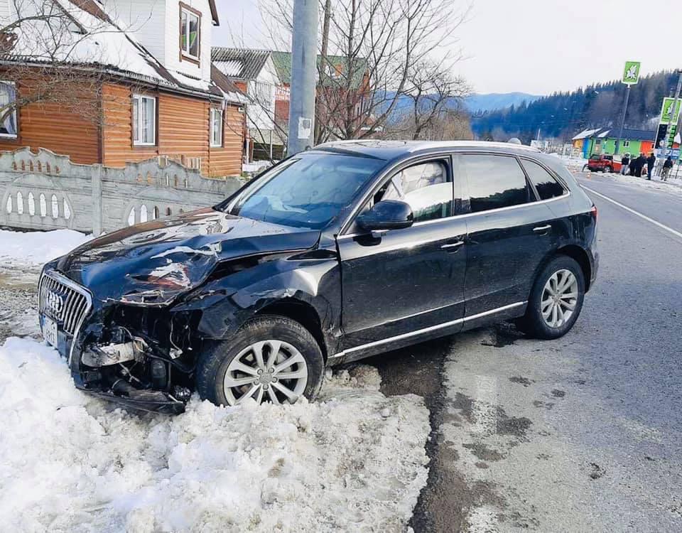 """П'яний франківець на Audi Q5 протаранив """"Volkswagen"""" – потерпілий водій у лікарні 2"""