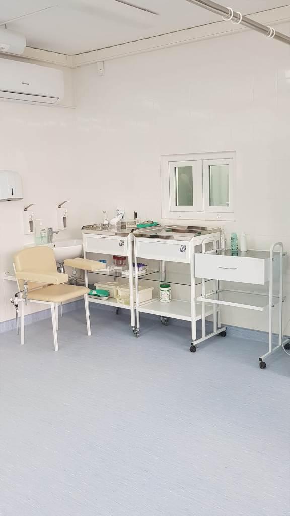 У Франківській ОКЛ показали відремонтоване приміщення відділення екстреної медичної допомоги 4