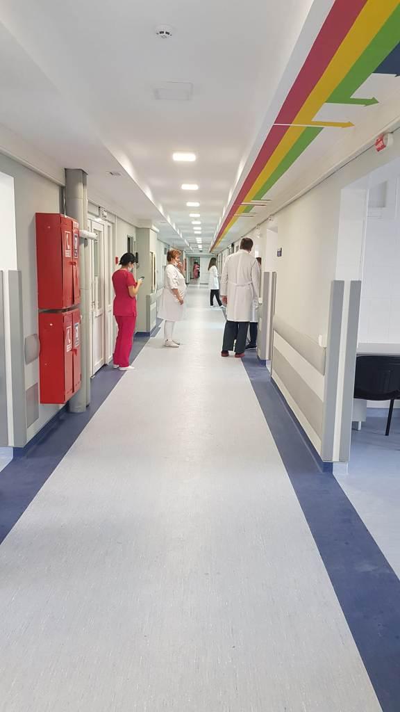 У Франківській ОКЛ показали відремонтоване приміщення відділення екстреної медичної допомоги 10