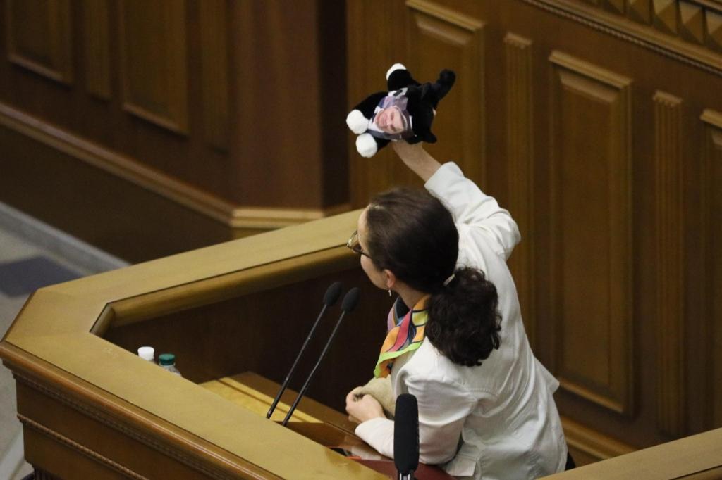 Шмигалю подарували кота в мішку. ФОТО 1
