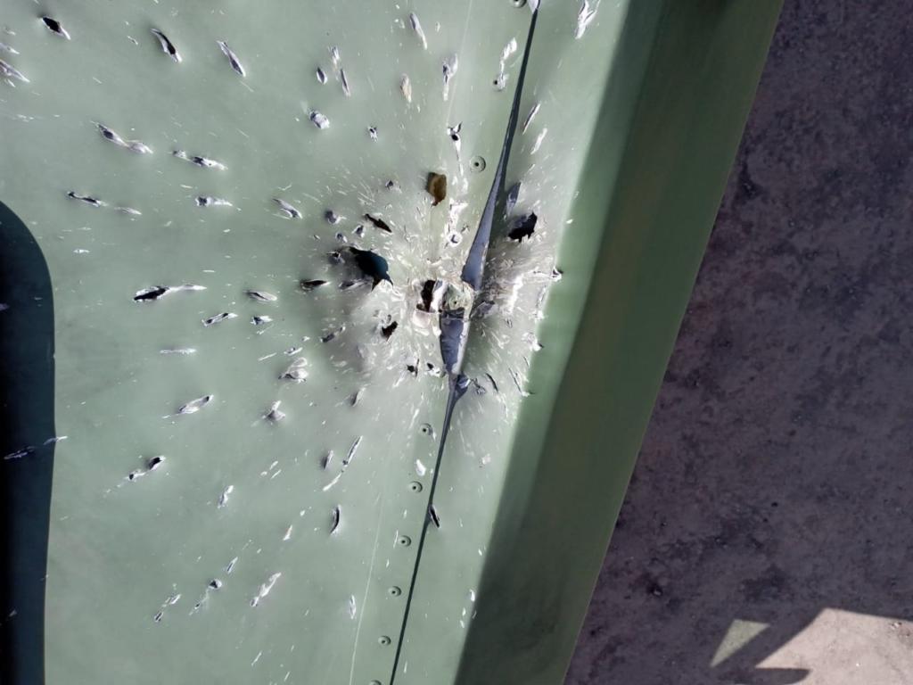 """Під Гнутовим на санітарне авто коломийської """"десятки"""" скинули гранати ворожі БПЛА 4"""
