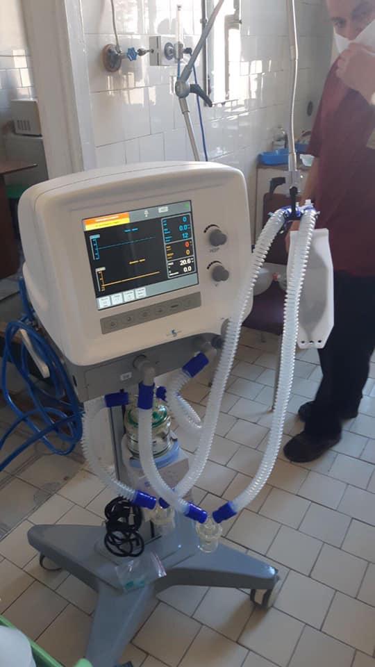 Міська лікарня №1 отримала апарат ШВЛ 2