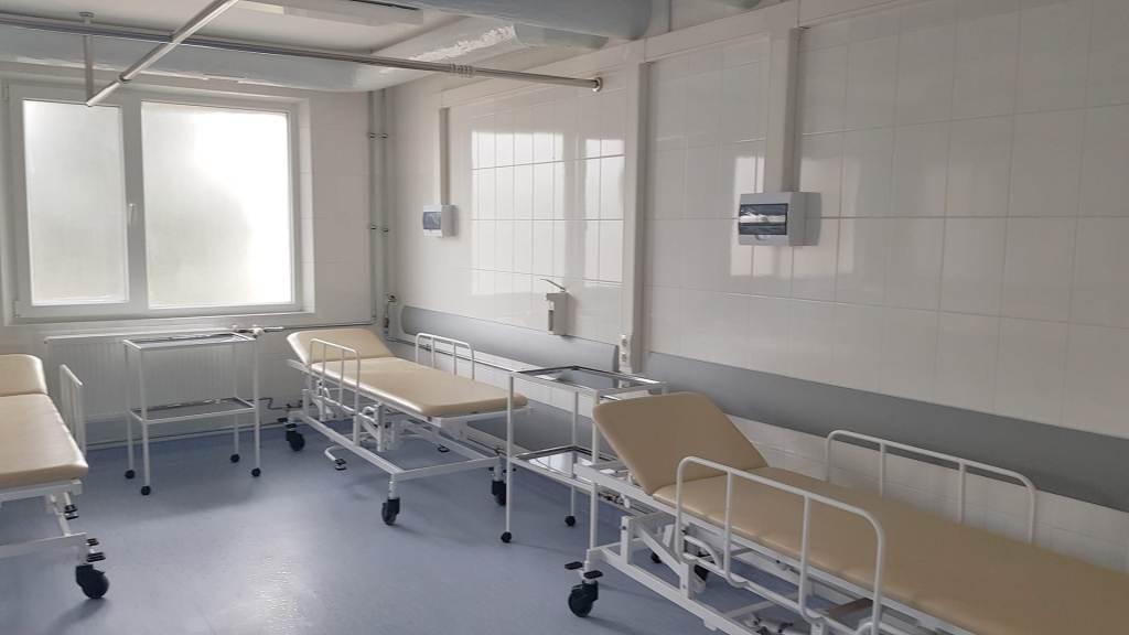 У Франківській ОКЛ показали відремонтоване приміщення відділення екстреної медичної допомоги 1
