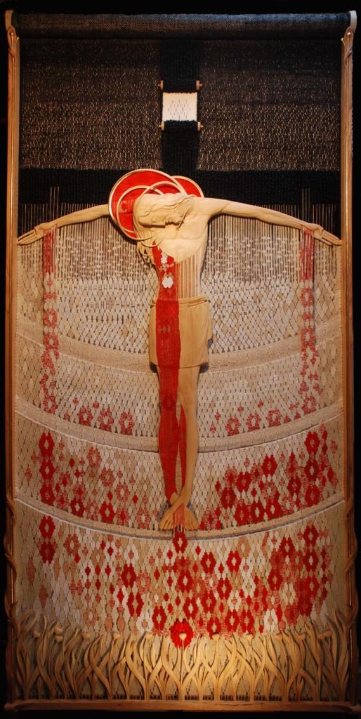 Шлюб дерева і нитки: подружжя із Косова створює філософські гобелени 12