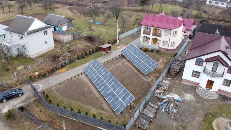 сонячна електростанція від Еко Енергія в Ланчині