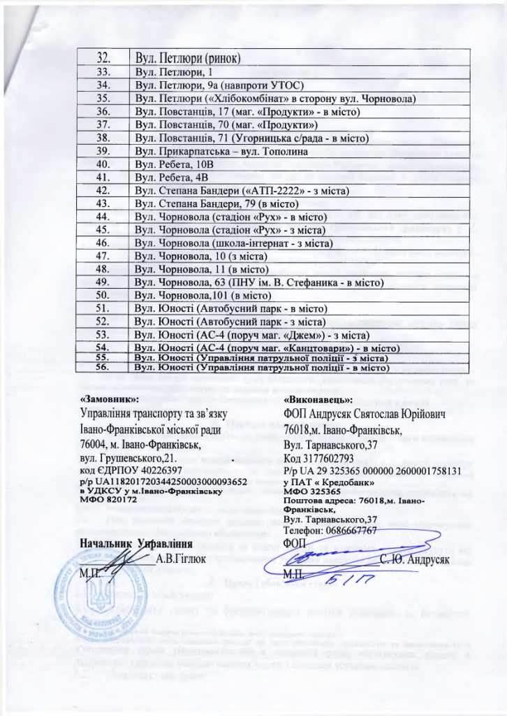 У Франківську підприємець зобов'язався щодня прибирати 111 зупинок за 945 тисяч гривень 4