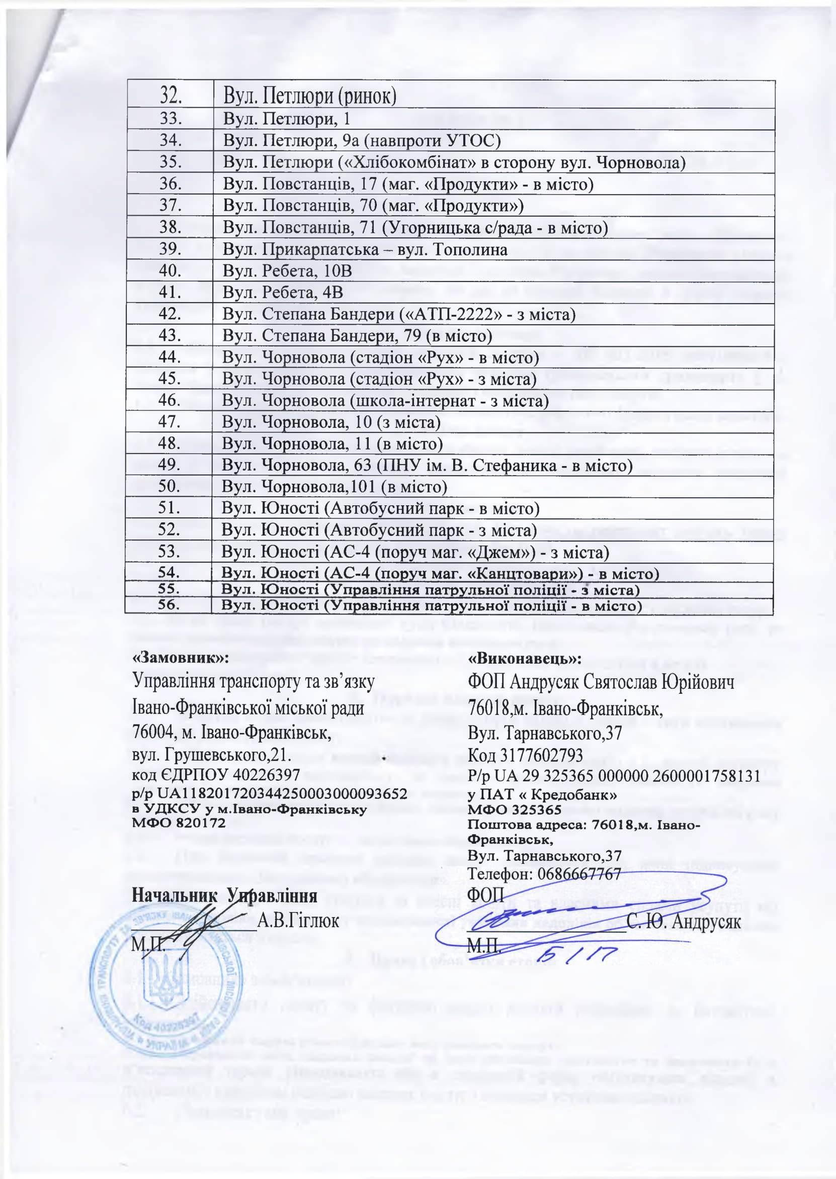 У Франківську підприємець зобов'язався щодня прибирати 111 зупинок за 945 тисяч гривень 8