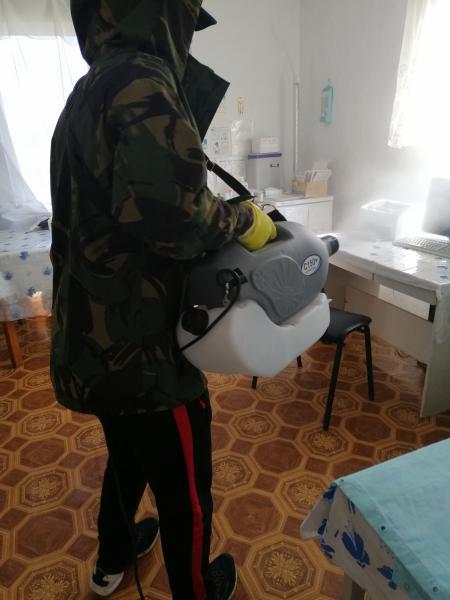 На Калущині провели дезінфекцію у 6 амбулаторіях та 8 храмах 2