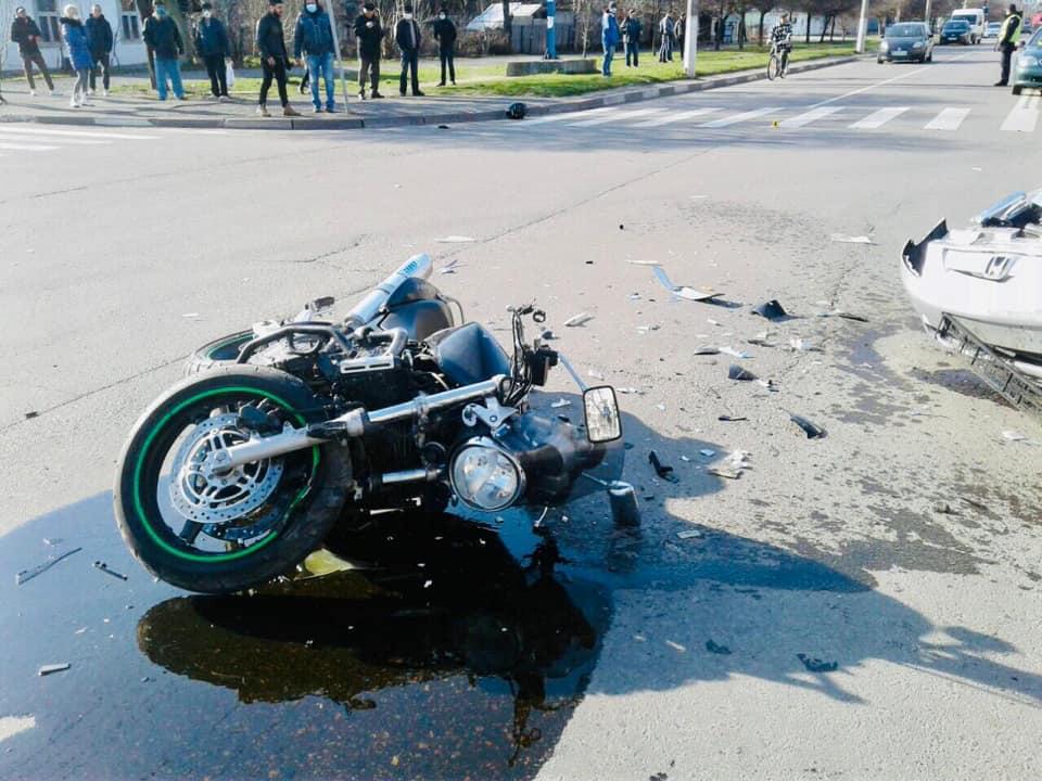 У ДТП у Калуші травмувався мотоцикліст, який нетверезий сів за кермо 2