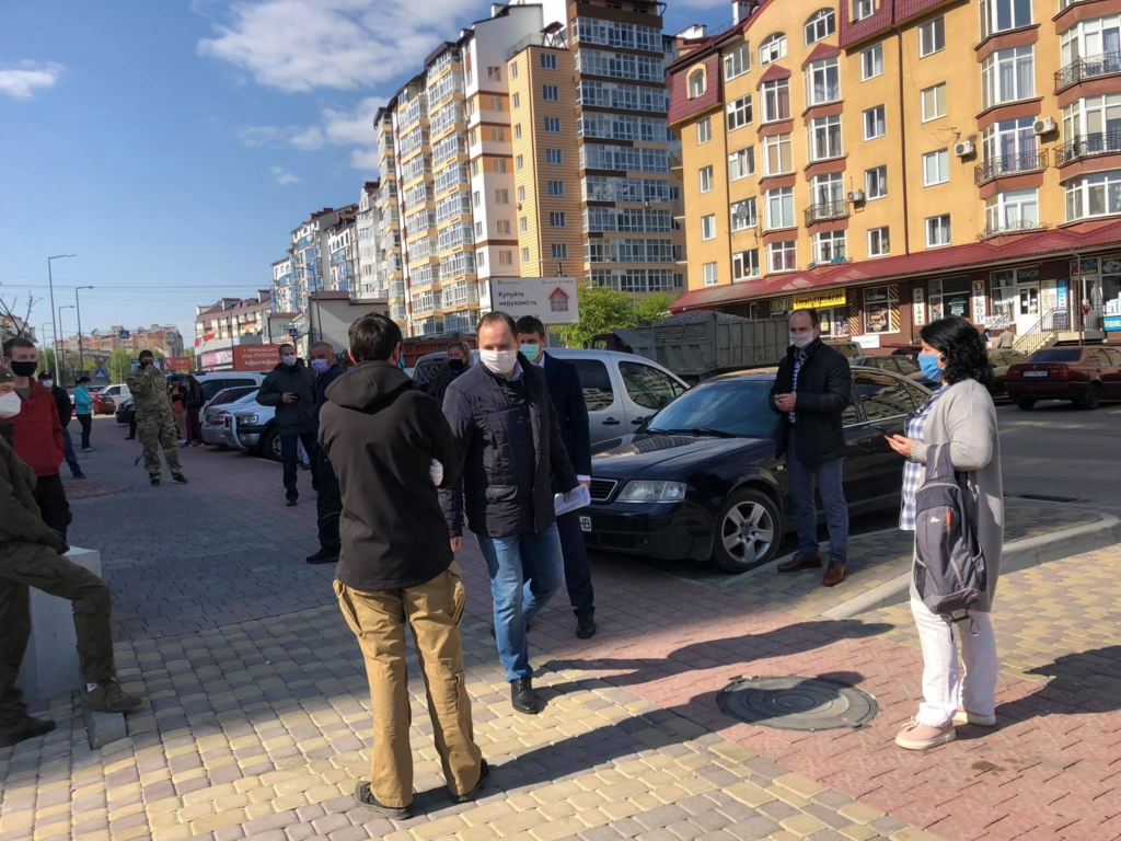 Руслан Марцінків ходив на допит у поліцію в справф ромів