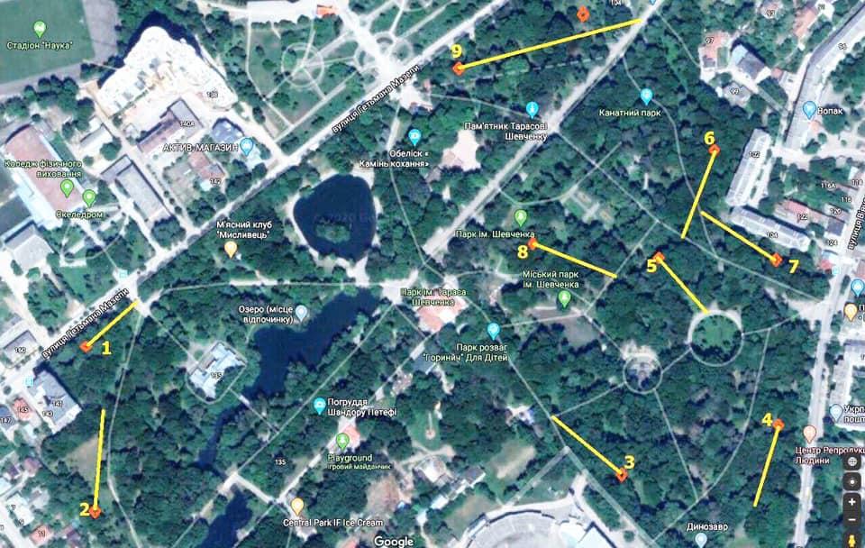 У Франківську встановили перший в Україні стаціонарний диск-гольф парк 2