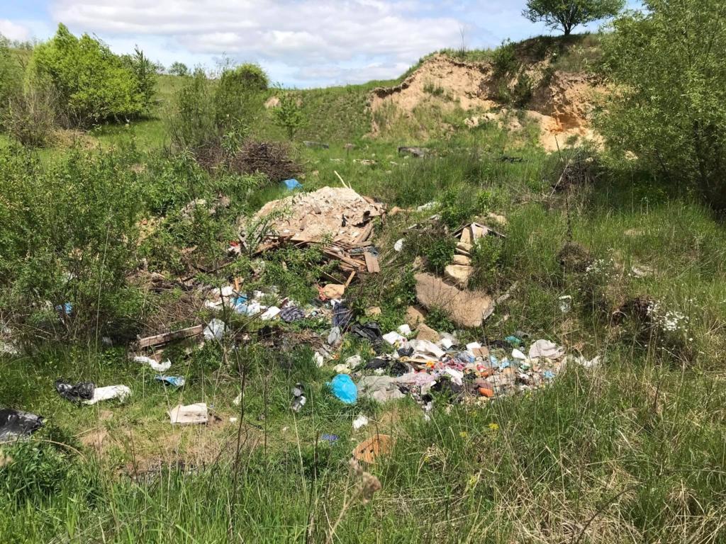 В селі на Рогатинщині люди борються зі стихійними смітниками, а влада скидає відходи в кар'єр 5
