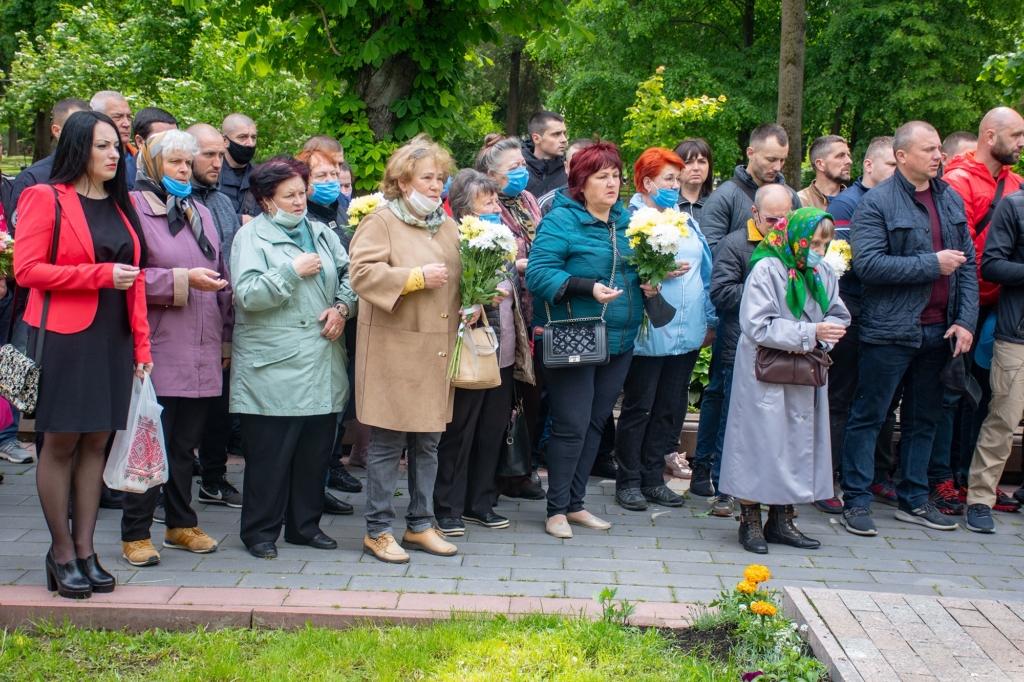 Франківці вшанували загиблих на горі Карачун у 2014 році 6