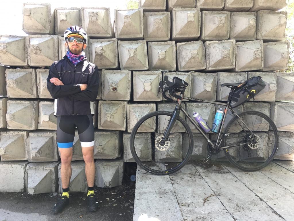 Франківець за три дні промчав велосипедом 600 км – із Києва додому 1
