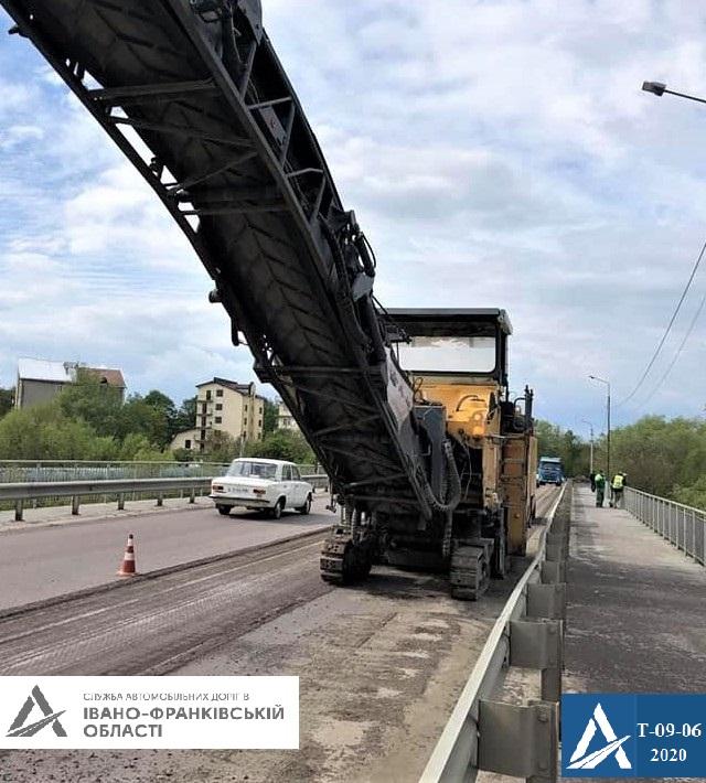 На Прикарпатті ремонтують дорогу Івано-Франківськ – Надвірна 2