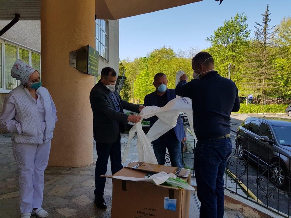 Команда ЄС і Фонд Порошенка витратили на боротьбу з COVID-19 та підтримку малозабезпечених у Франківській області понад 4 млн гривень 2