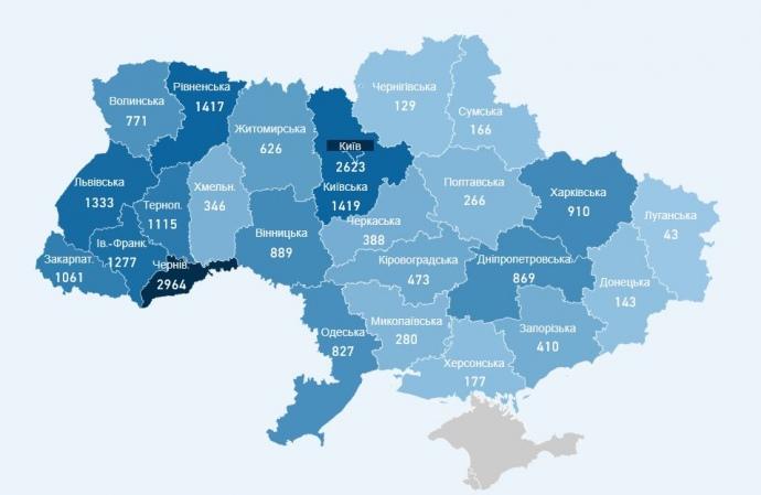 На Франківщині підтвердили за добу три випадки COVID-19, один хворий помер 1