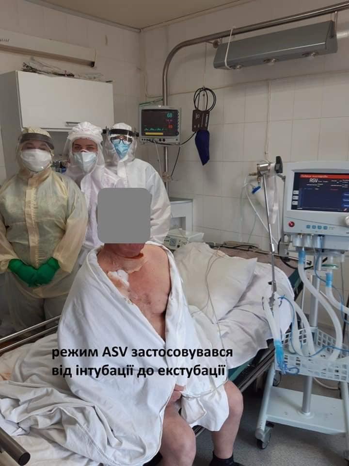 Надскладний випадок: в Обласній лікарні 22 дні на ШВЛ рятували 69-річного прикарпатця з COVID-19 4