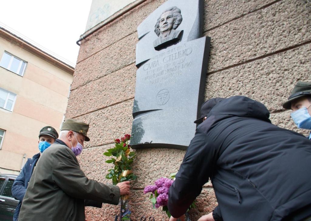 """У Франківську вшанували пам'ять """"головної бандерівки"""" Слави Стецько 2"""
