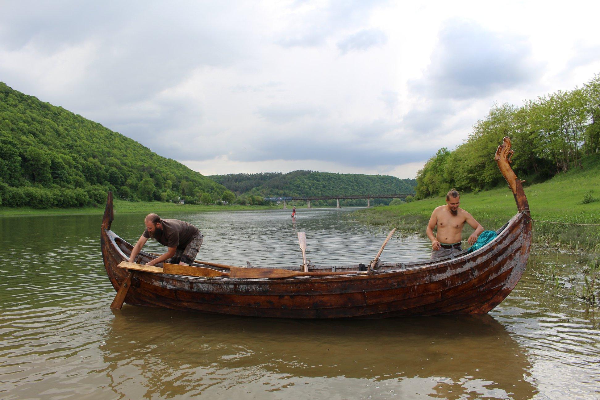 З дракаром відкриють туристичний сезон у Дністровському каньйоні 16