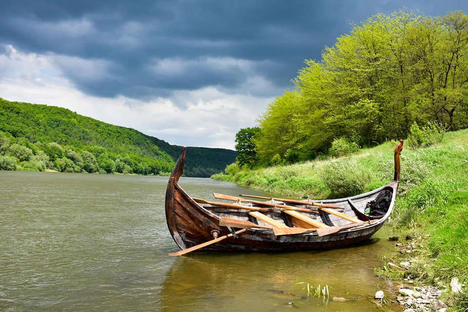 З дракаром відкриють туристичний сезон у Дністровському каньйоні 2